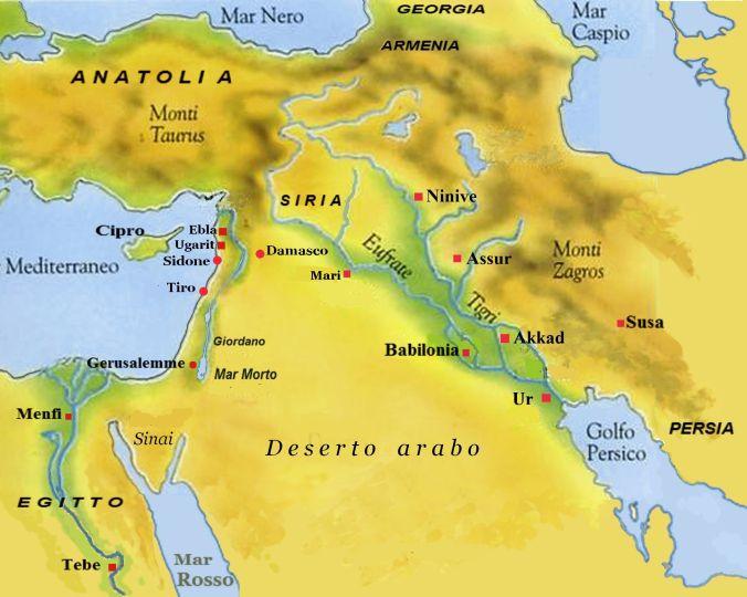 Medio Oriente Cartina Fisica.Cos E Il Vicino Oriente Portalecittadino