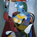 Ritratto di Marie Thérèse di Picasso
